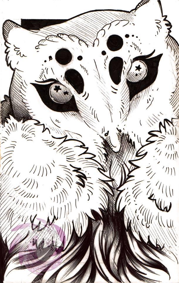 Owlbeast by Idlewings