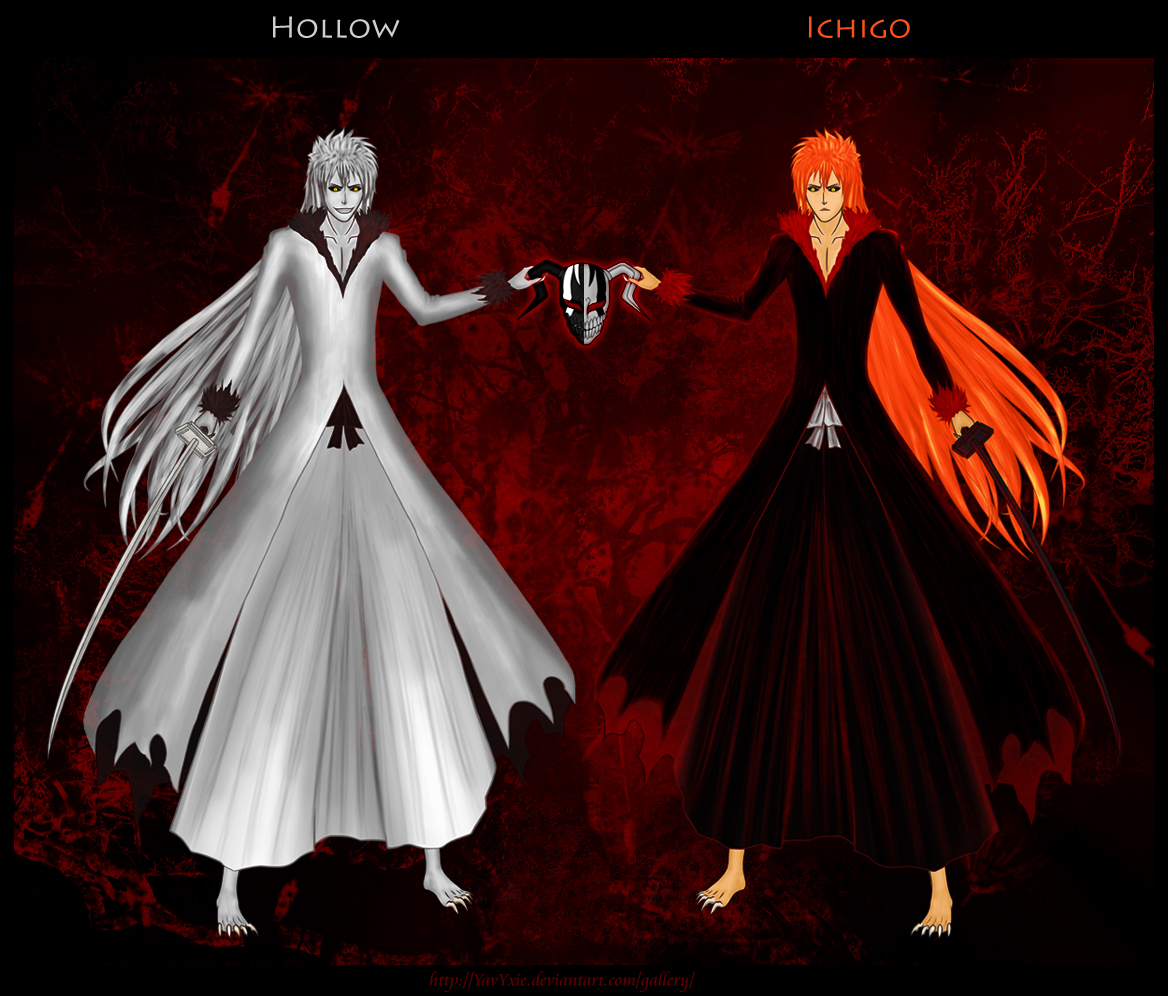 Hollow Ichigo By YavYxie On DeviantArt