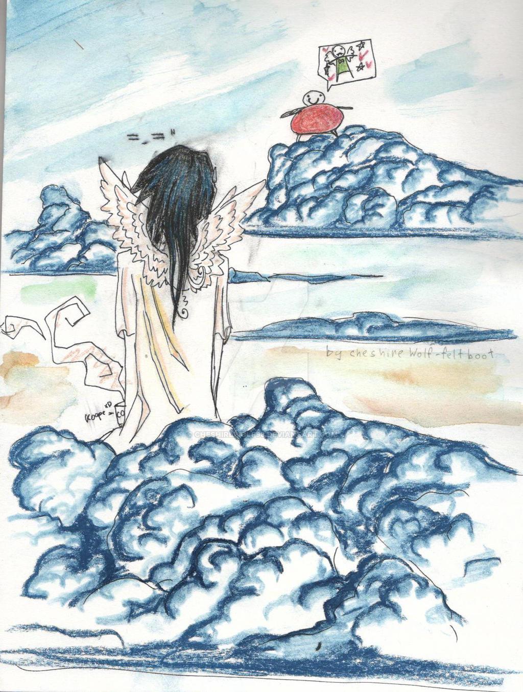 angel xD by CheshireWolf98