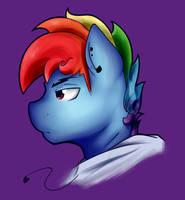 That Rainbow Stallion by NolyCS
