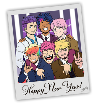 Happy New Year! by NolyCS