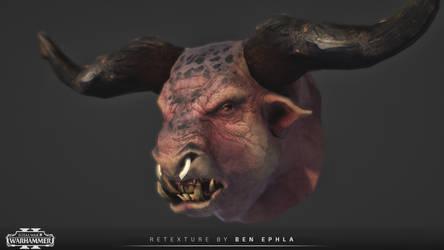 BEASTMEN - Minotaur Head | Retexture |