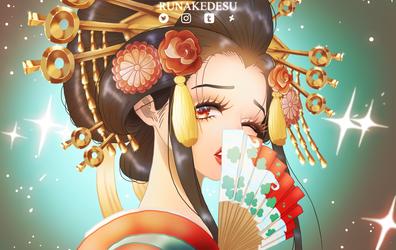 ONE PIECE | Komurasaki Oiran chapter 928 by Runakedesu