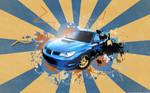 Subaru vector car