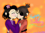 Tender Kisses and Birthday Wishes by LocalPeaches