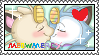 MeowMercy Fan Stamp by LocalPeaches