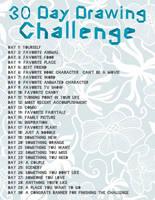 30 Day Drawing Challenge by blargofdoom