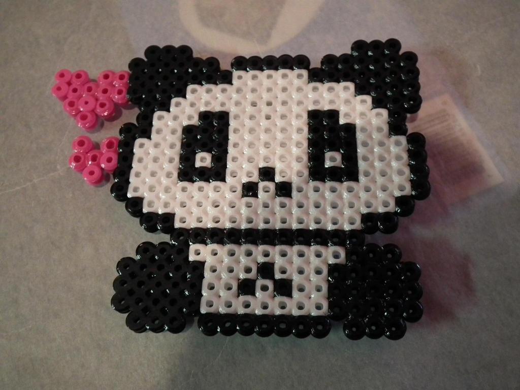 Perler Beads Panda | Car Interior Design