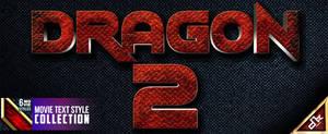 Dragon Text Style by dkasparov
