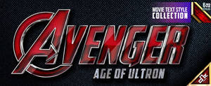 Avenger Movie Text Style by dkasparov