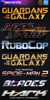 7 Movie Text Style by dkasparov
