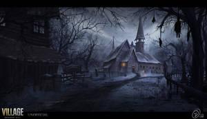 Re village concept art