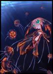 below light- jellyfish girl by WalkingMelonsAAA