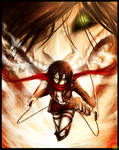 ($20) I'll Never Leave you: Attack on Titan