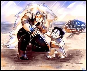 Steven Universe It's ok to be gentle