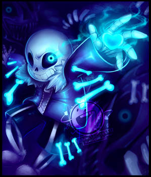 Sans - Undertale - You're gonna have a bad time!