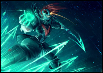 Undyne the Undying - The True Hero