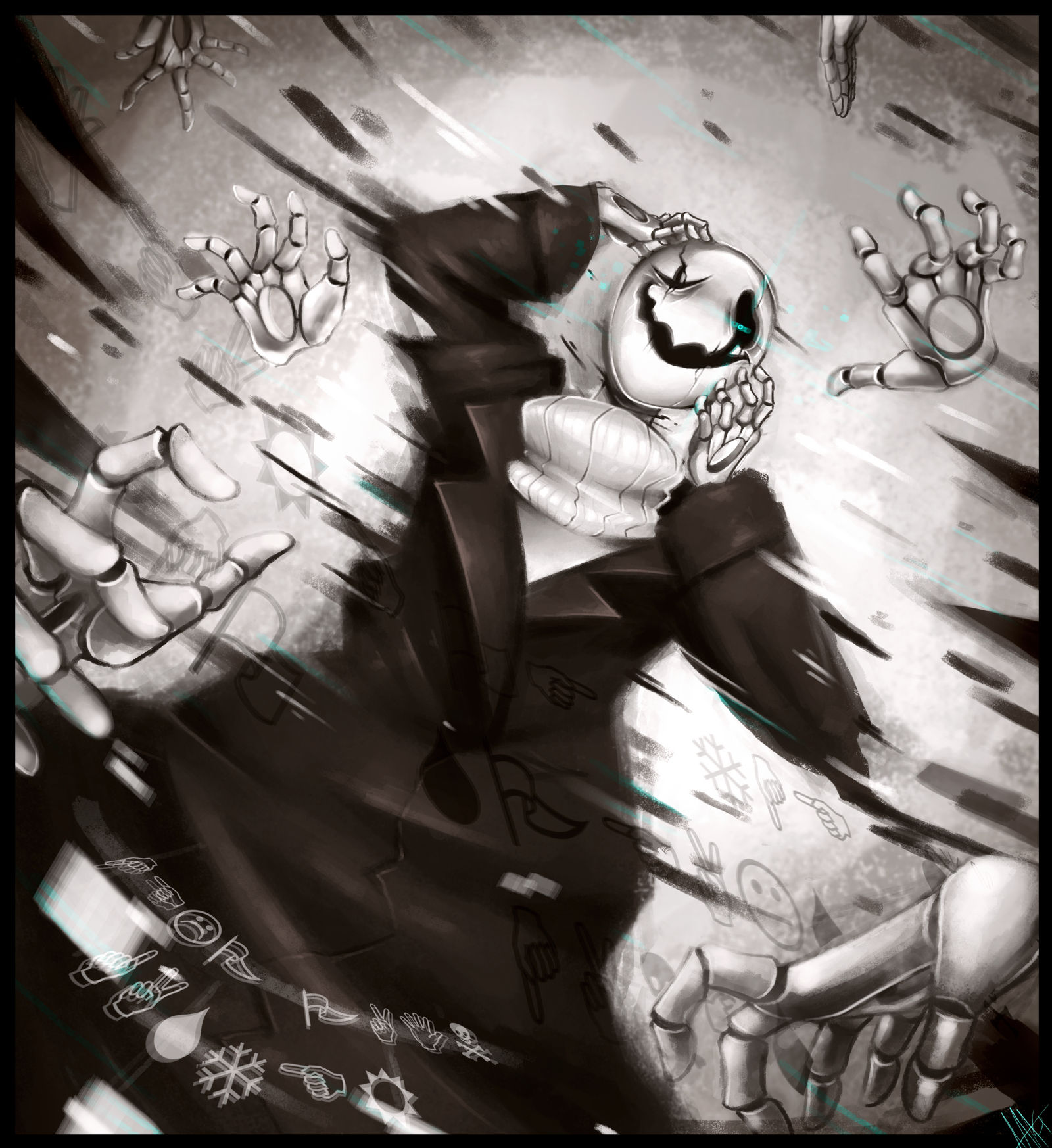 Scattered Through Space And Time W D Gaster By Walkingmelonsaaa On Deviantart