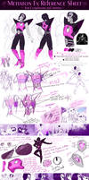Mettaton Reference Sheet for Cosplayers and Artist