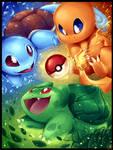 PICK YOUR STARTER!!! - Pokemon