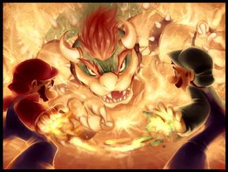 The Koopa King! -( Luigi Brothers ) by WalkingMelonsAAA