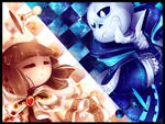 Chesstale - Sans and Frisk - Checkmate Kid