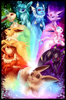 The possibilities - Eeveelution rainbow