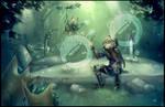 Korok Forest - Zelda BotW