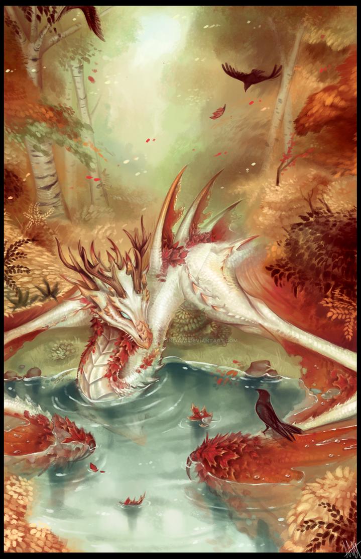 Fall Dragon Edited-1 by WalkingMelonsAAA