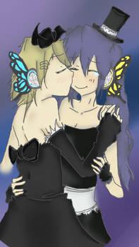 Miku y Rin