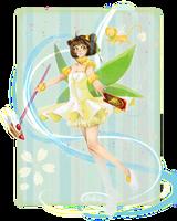 Sakura in her fairy costume by hadh