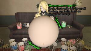 Cynthia's Ice cream binge (Gmod stuffing) by lucasbasher649