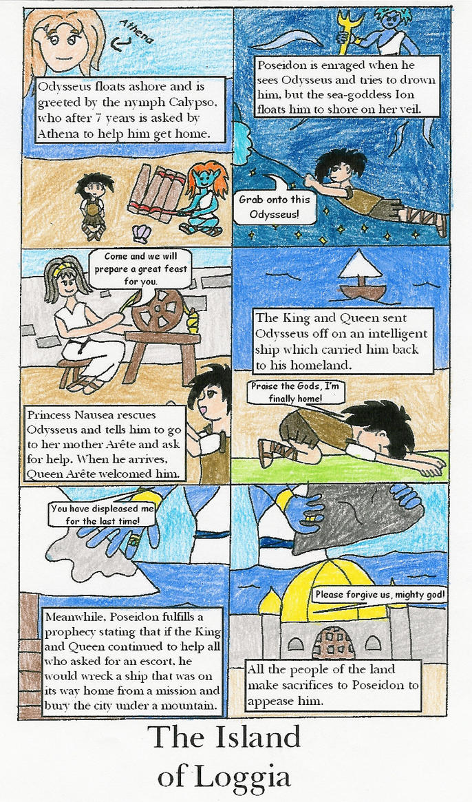 The Odyssey PART NINE by HojoMcOjo