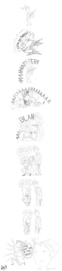 Hojo's Left 4 Dead -comic-