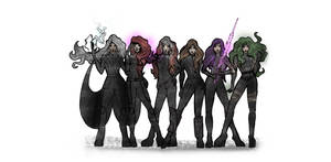 X-WOMEN by gerardoelessar