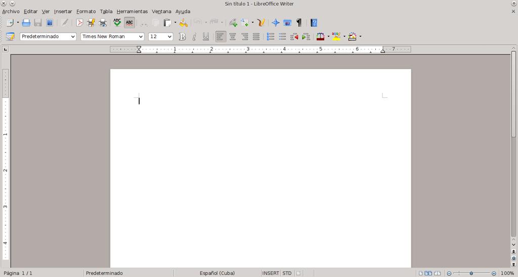 LibreOffice en KDE