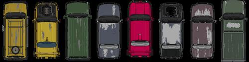 Ruined Vehicles by Johasu