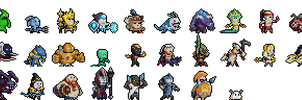 League of Legends Character 32x32 Sprites