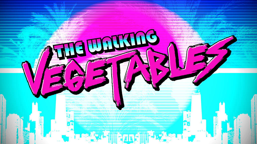 The Walking Vegetables Cover Art by Johasu