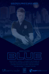 BLUE *mock* ''movie'' poster