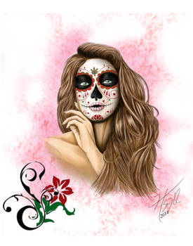 Day of the Dead Woman I