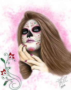 Day of the Dead Woman II