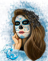 Day of the Dead Woman IV