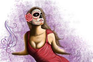 Day of the Dead Woman III