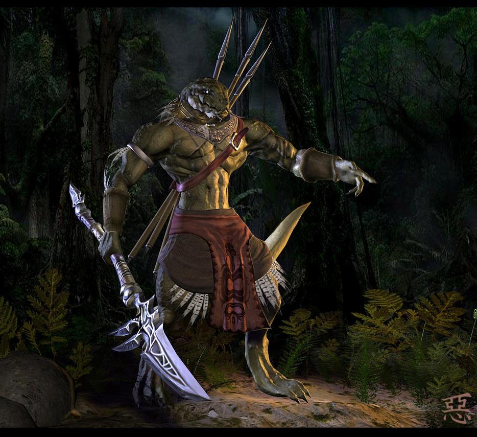 Paxhau Legion Aphashia__Lizardman_Warrior_by_Shinsen