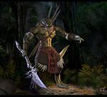 Aphashia, Lizardman Warrior