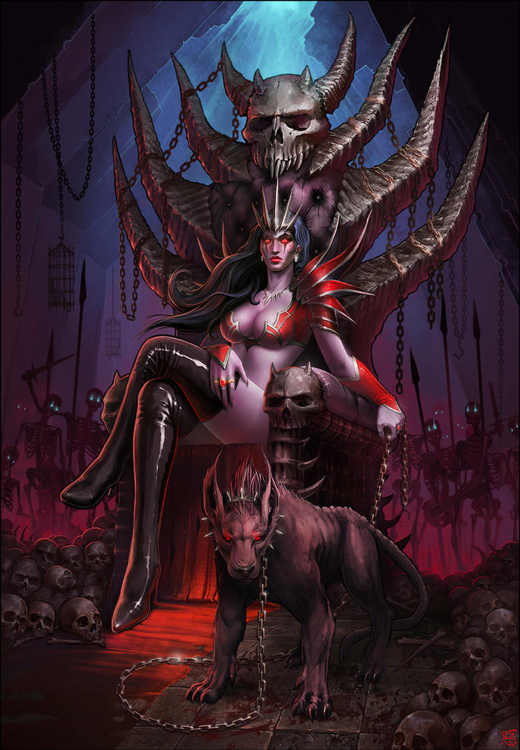 Queen of the undead blood demon pron hentay image