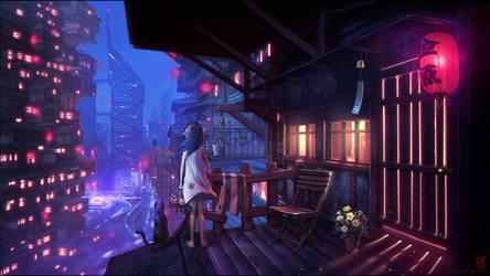 SLeepless Nights ... by Shinsen