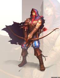 Mercenary Ranger Concept by Shinsen