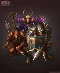Murukk Enforcers by Shinsen